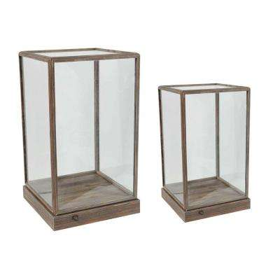 Xylon 12.5 in. x 21.5 in. Decorative Squares (2-Pack)