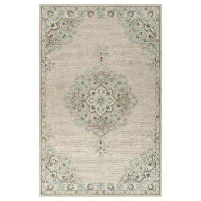 Modern Traditions LR81292-IVO90C0 Ivory Rectangle 9 ft. x 12 ft. Indoor Area Rug