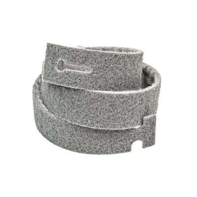 Blendex 24 in. L x 1-3/16 in. W T-Lock Belts GR Small Fine Surface Conditioning Strip Belts, Grey (Pack of 3)