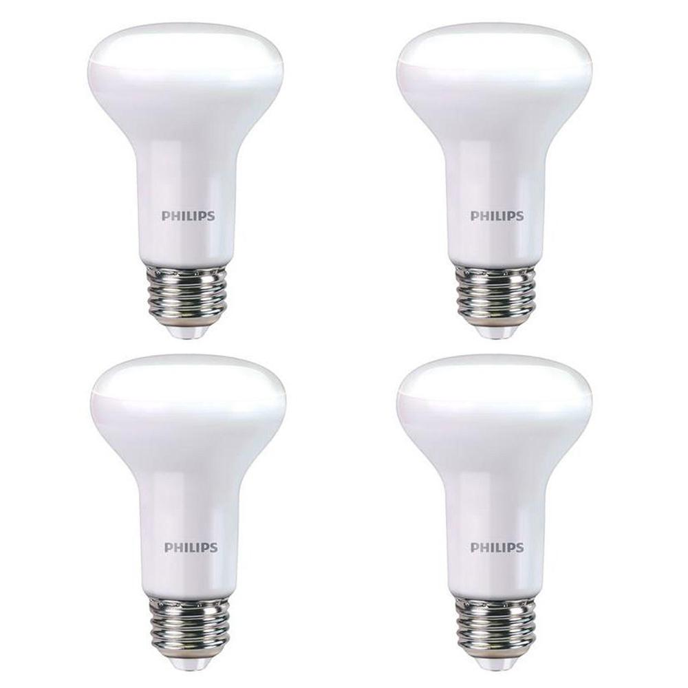 Philips 45 Watt Equivalent R20 Dimmable Led Light Bulb Soft White 3w Gen V With Warm Glow