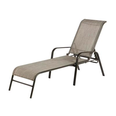 Sling Outdoor Patio Chaise Lounge