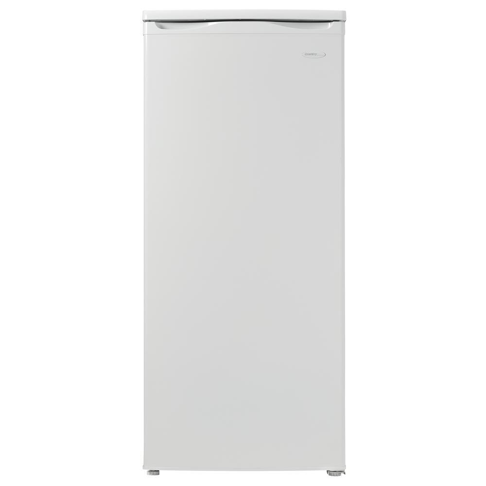 Danby Designer 5.9 cu. ft. Manual Defrost Upright Freezer in White