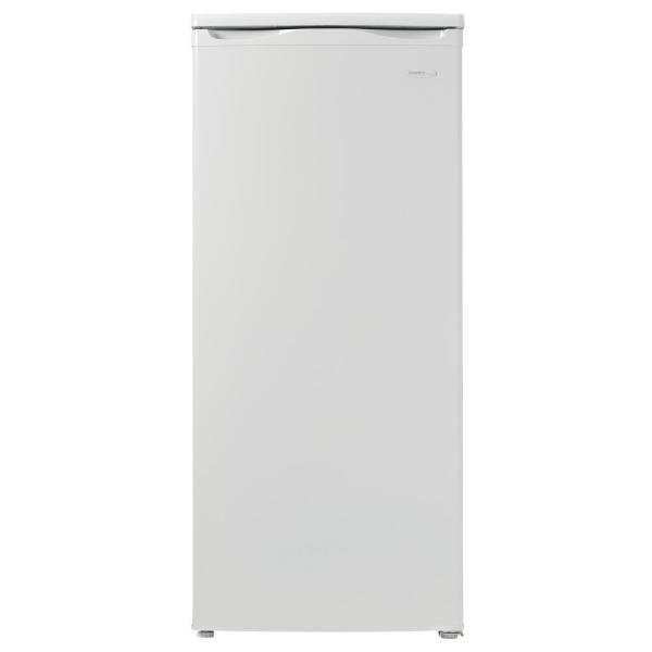 5.9 cu. ft. Manual Defrost Upright Freezer in White