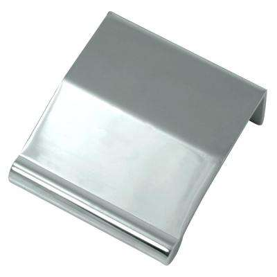 Contempo 1-7/9 in. Polished Chrome Zinc Edge Drawer Pull