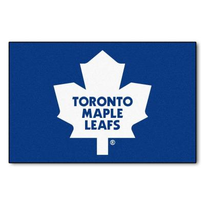 NHL Toronto Maple Leafs Blue 1 ft. 7 in. x 2 ft. 6 in. Rectangular Area Rug