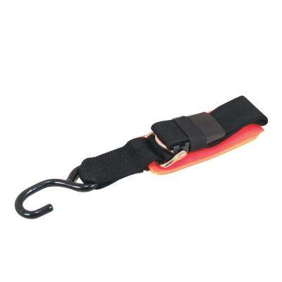 2 in. x 2 ft. Padded Cambuckle Transom Tie-Down