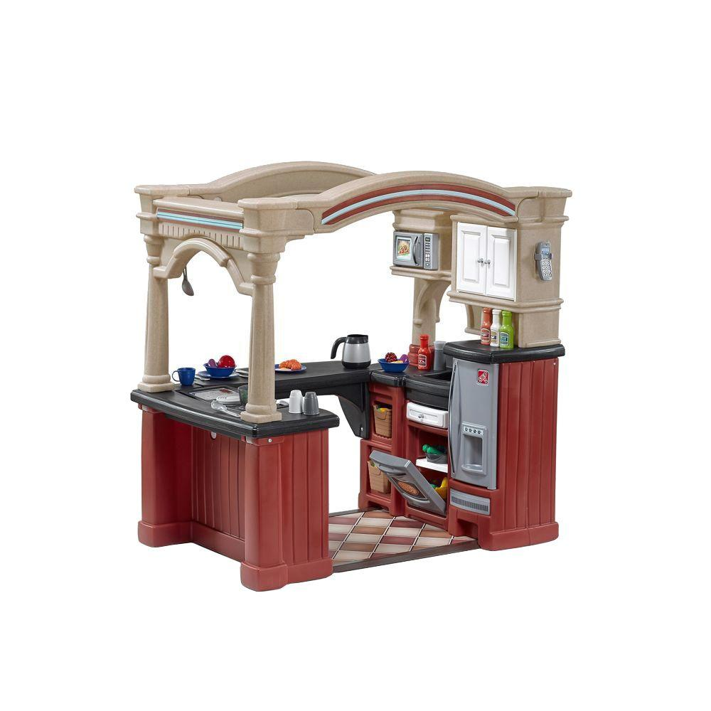 Step2 Grand Walk In Kitchen Playset 8562kr The Home Depot