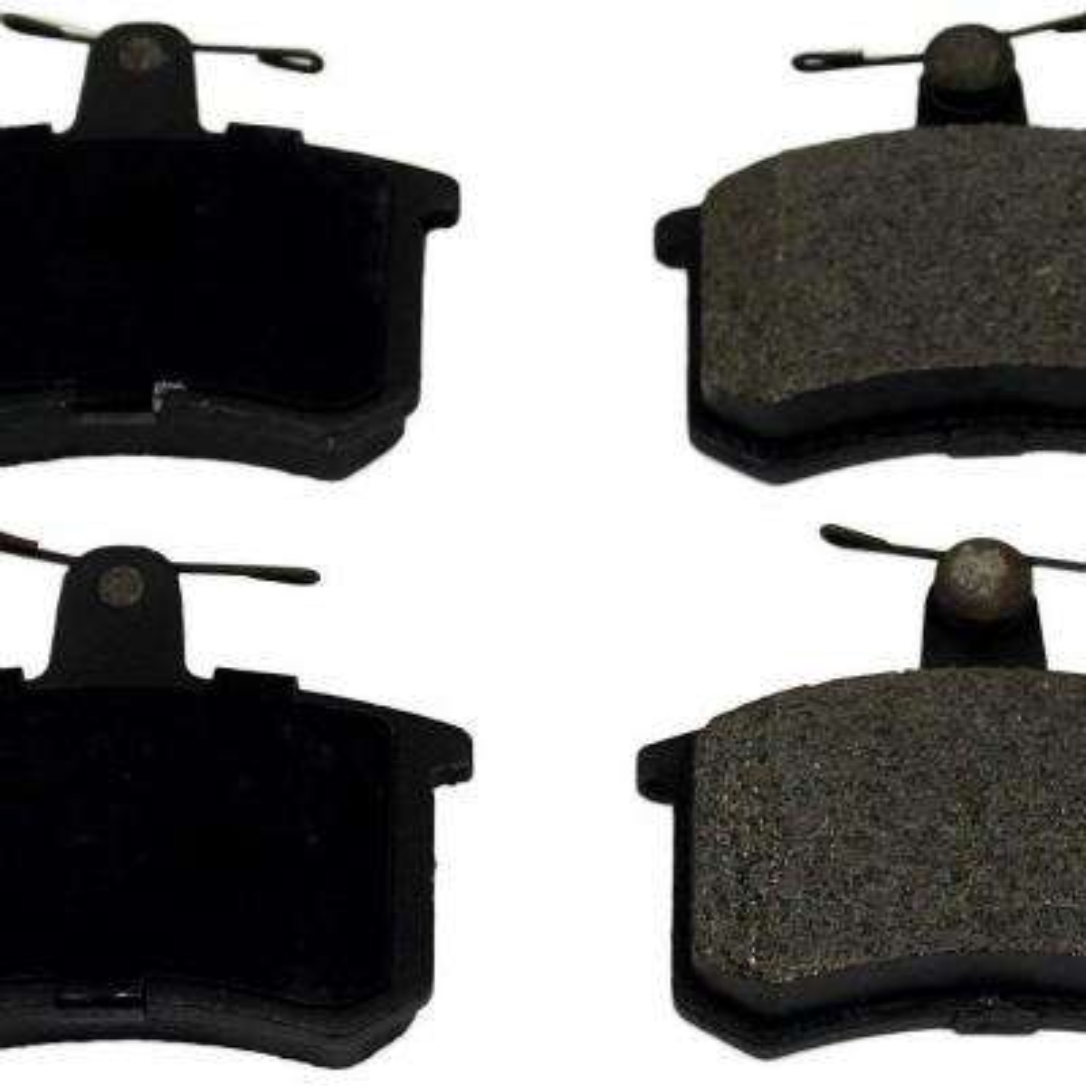 Rear ProSolution Semi-Metallic Brake Pads fits 1985-1987 Volkswagen Golf