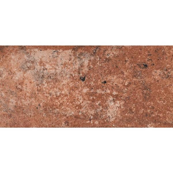 Capella Red Brick 5 in. x 10 in. Matte Porcelain Floor and Wall Tile (5.55 sq. ft. / case)