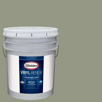 5 gal. #HDGCN08 Eucalyptus Tree Low-Lustre Exterior Paint with Primer