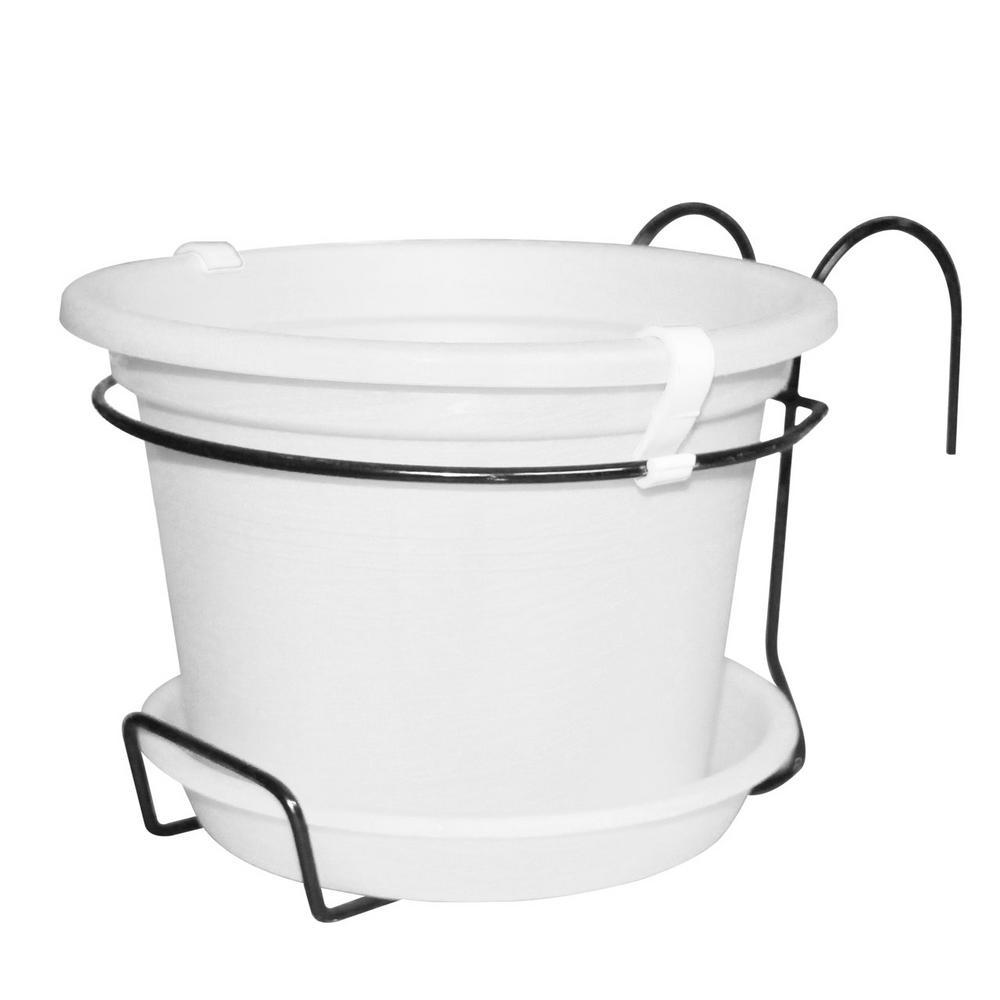 Kit For Gefen Flower Pot White Plastic Pot