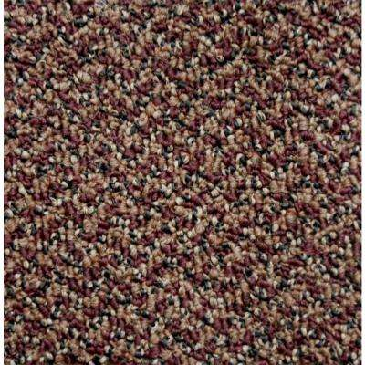 Carpet Sample - Difference Maker - Color Scarlet Loop 8 in x 8 in