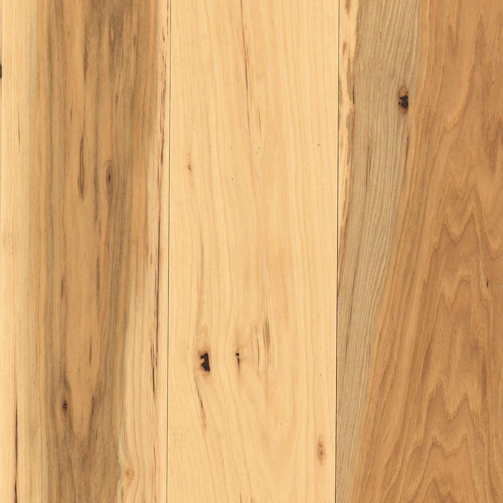 Mohawk arlington country natural hickory 3 4 in thick x 5 for Mohawk hardwood flooring