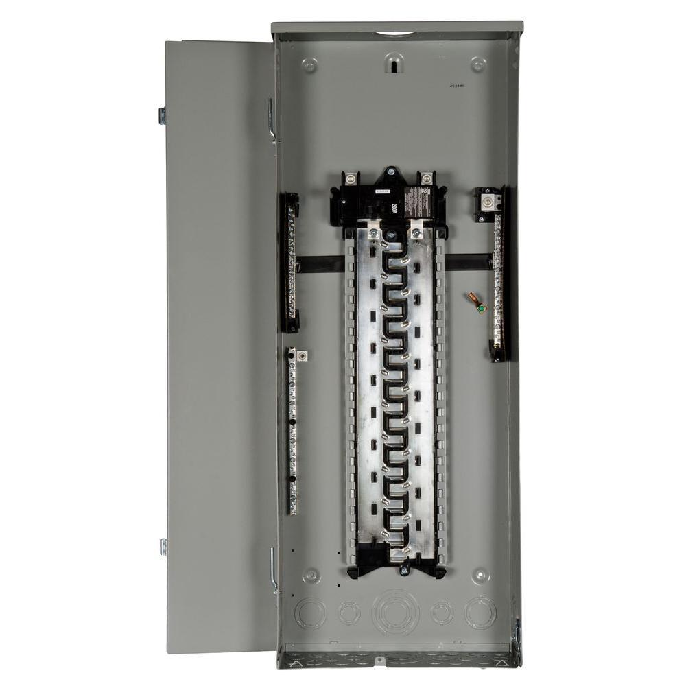 200 Amp 40-Space 40-Circuit Main Breaker Load Center