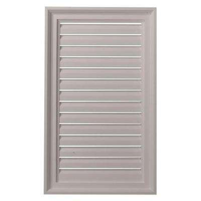 2 in. x 18 in. x 30 in. Functional Vertical Gable Louver Vent
