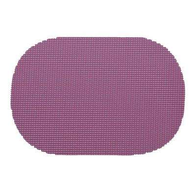 Fishnet Oval Placemat in Purple (Set of 12)