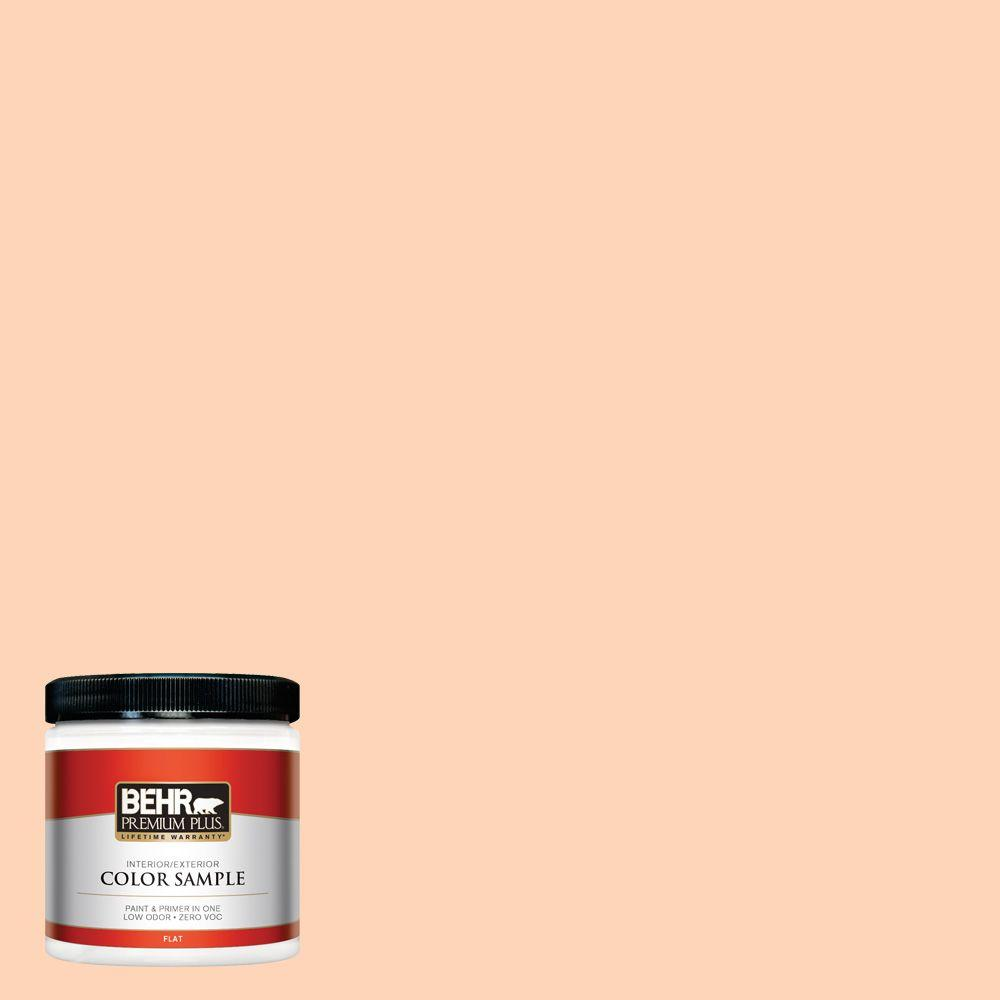 BEHR Premium Plus 8 oz. #260A-3 Peach Beige Interior/Exterior Paint Sample