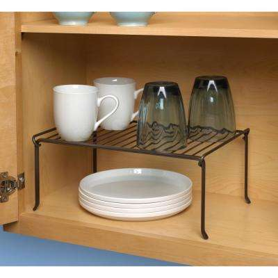 Ashley 6 in. x 14 in. x 9.75 in. Stackable Shelf in Bronze