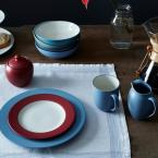 Noritake Colorwave 8.25 in. Blue Poppy Accent Plate