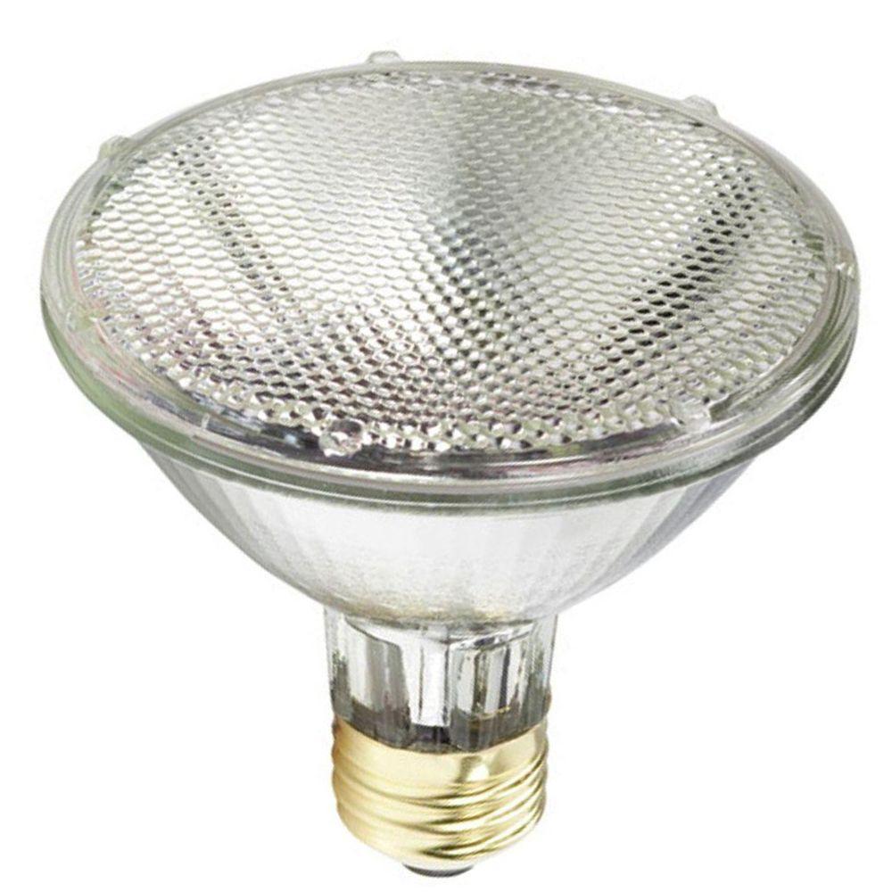 Ecosmart indooroutdoor led bulbs light bulbs the home depot 75w equivalent halogen par30s energy advantage wide flood light bulb aloadofball Images
