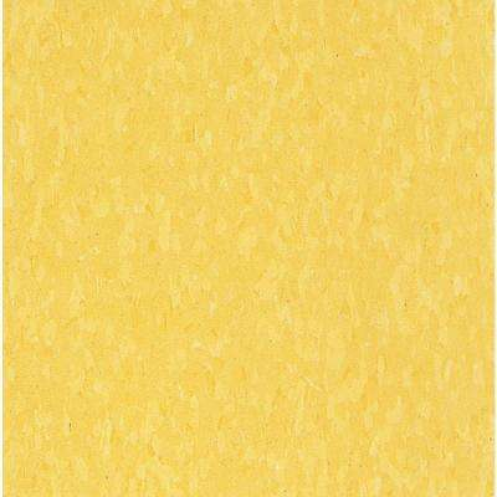 Imperial Texture VCT 12 in. x 12 in. Lemon Yellow Standard Excelon Commercial Vinyl Tile (45 sq. ft. / case)