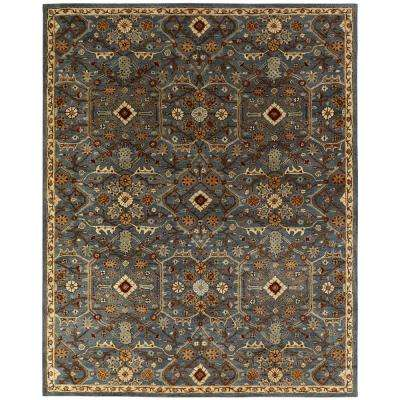 Empire Slate Blue 2 ft. x 3 ft. Area Rug