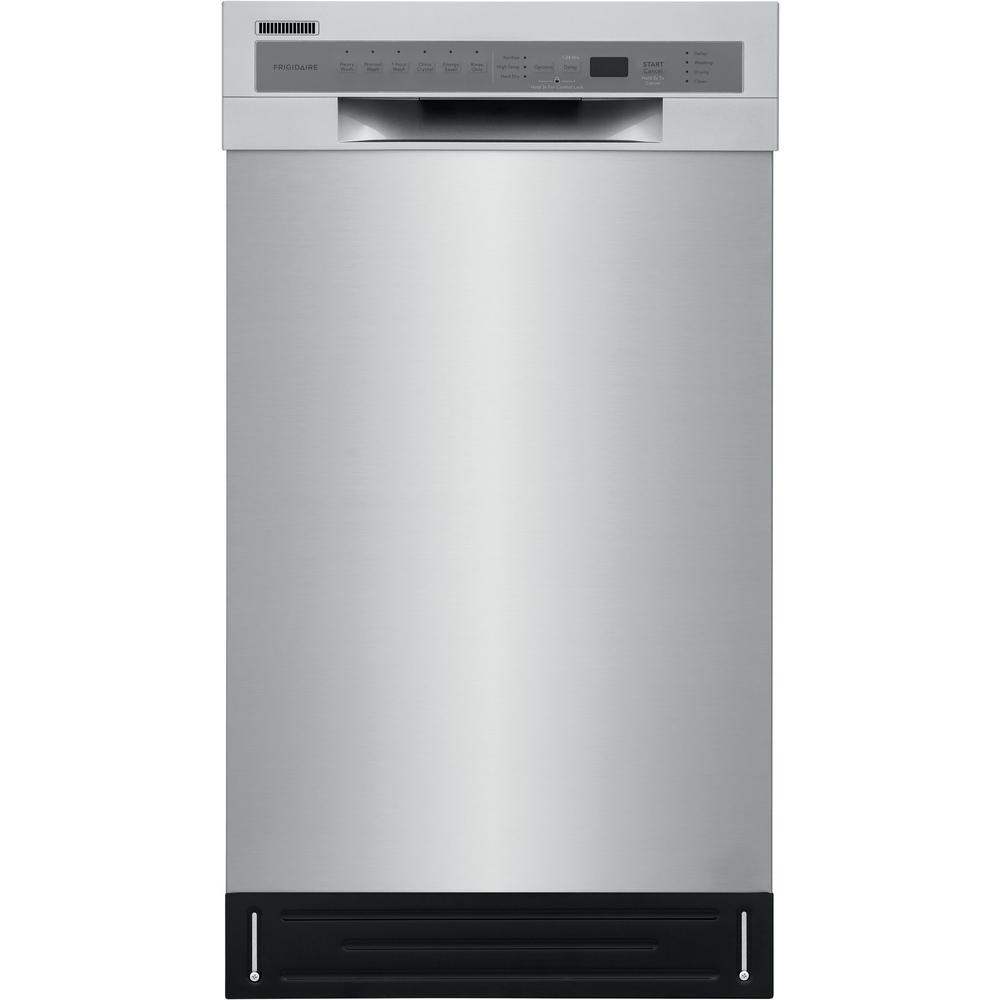 Frigidaire Front Control Built-in Tall Tub Dishwasher in Stainless with Stainless Steel Tall Tub, ADA Compliant, ENERGY STAR 52 dBA