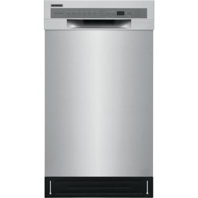 18 in. Stainless Steel Front Control Built-In Tall Tub Dishwasher with Stainless Steel Tub, ENERGY STAR, 52 dBA