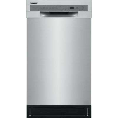 Front Control Built-In Tall Tub Dishwasher in Stainless with Stainless Steel Tall Tub, ADA Compliant, ENERGY STAR 52 dBA