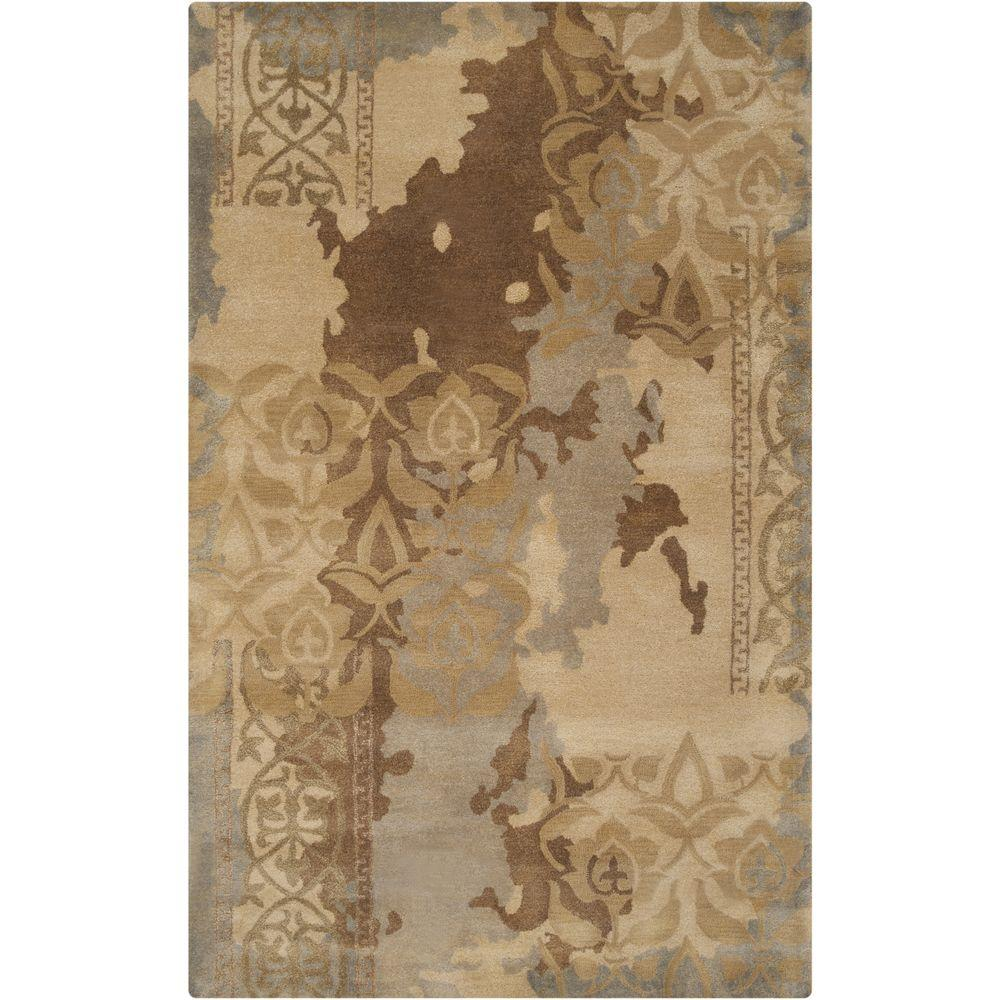 Bumboldt Gray 5 ft. x 8 ft. Indoor Area Rug