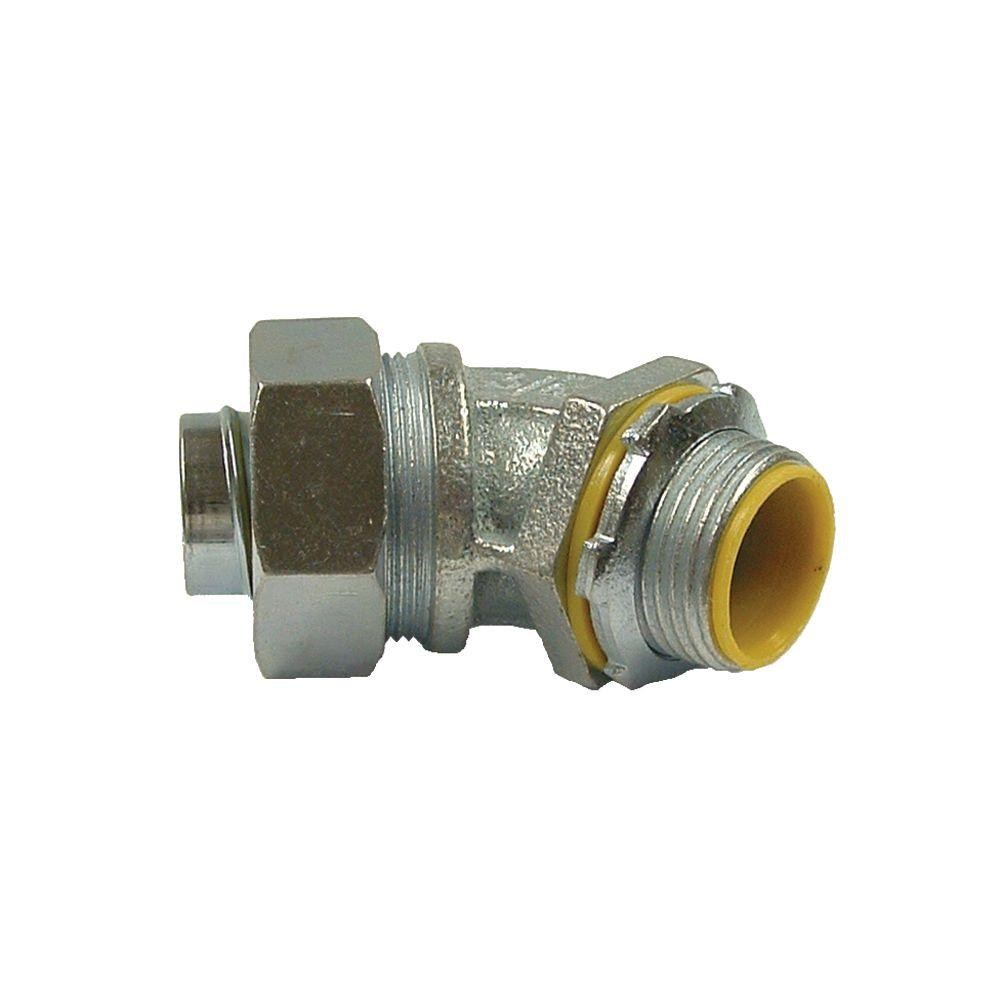 RACO Liquidtight 2 in. Insulated Connector (5-Pack)