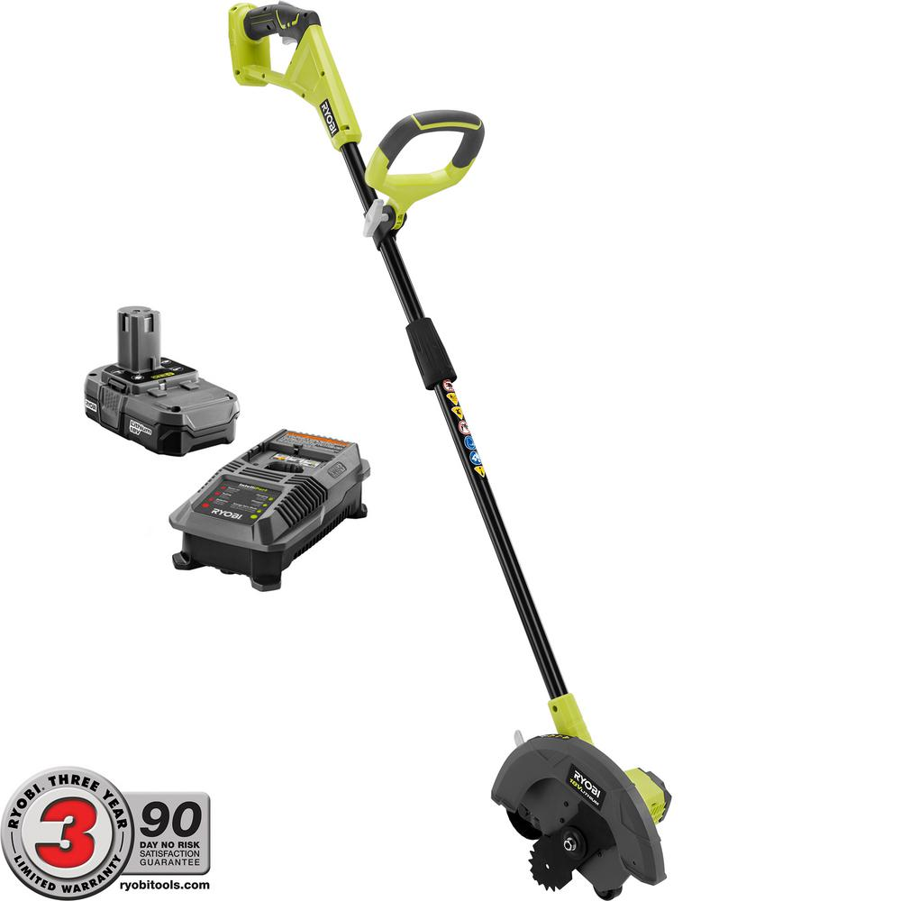 ONE+ 9 in. 18-Volt Lithium-Ion Cordless Edger - 1.3 Ah Battery
