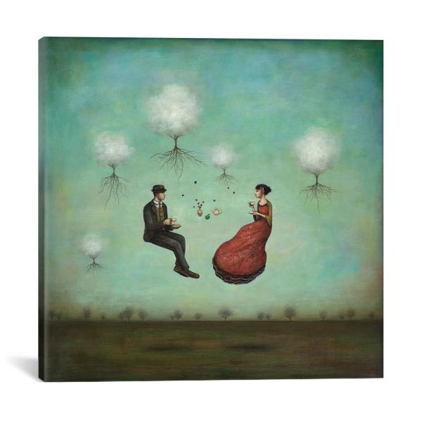 Icanvas Quot Gravitea For Two Quot By Duy Huynh Canvas Wall Art