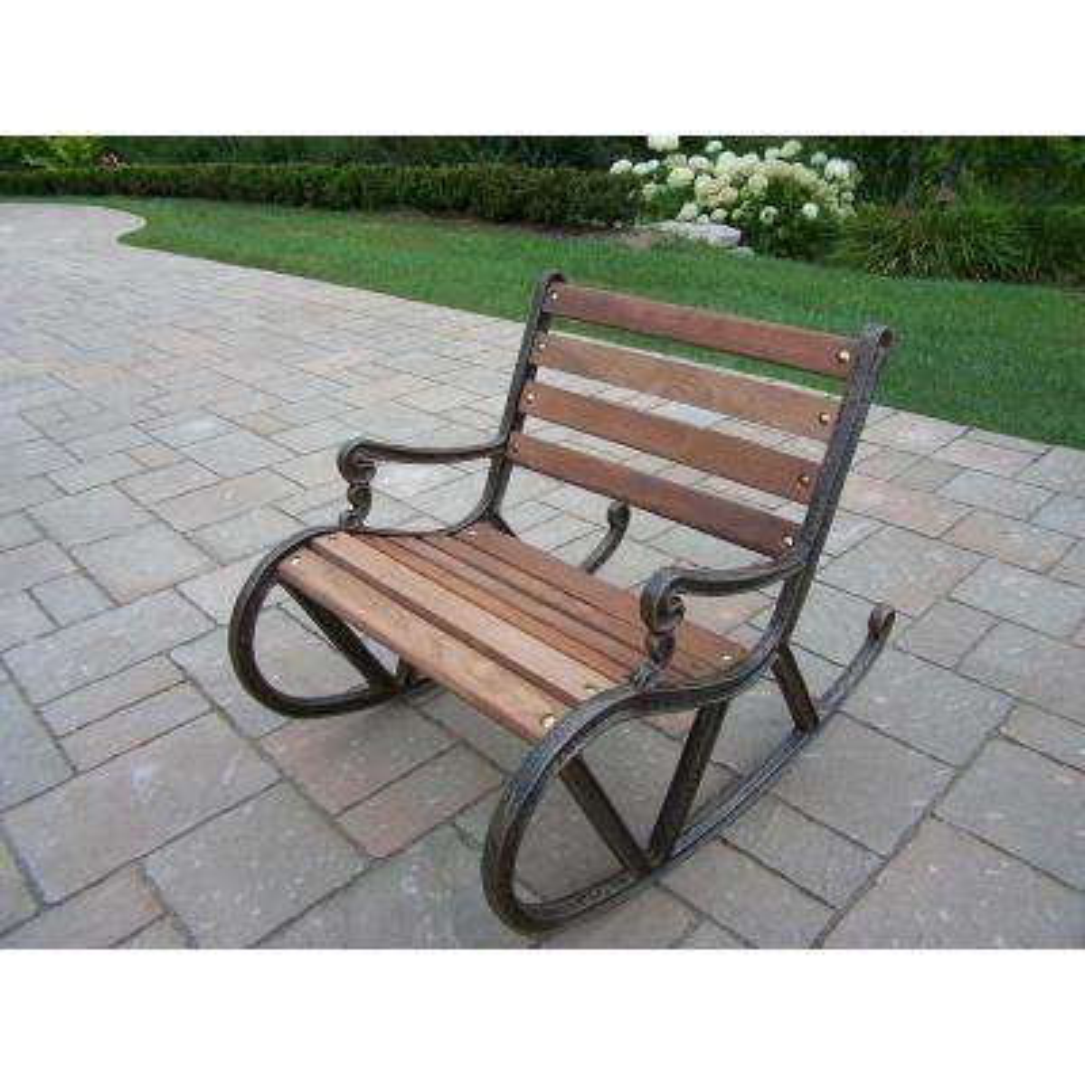 Mini Aluminum Outdoor Rocking Chair