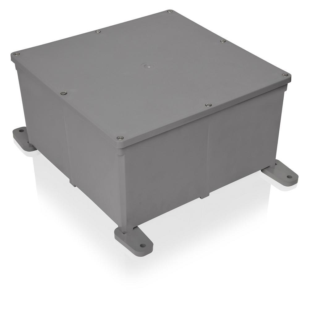 Carlon 8 In X 4 Pvc Junction Box
