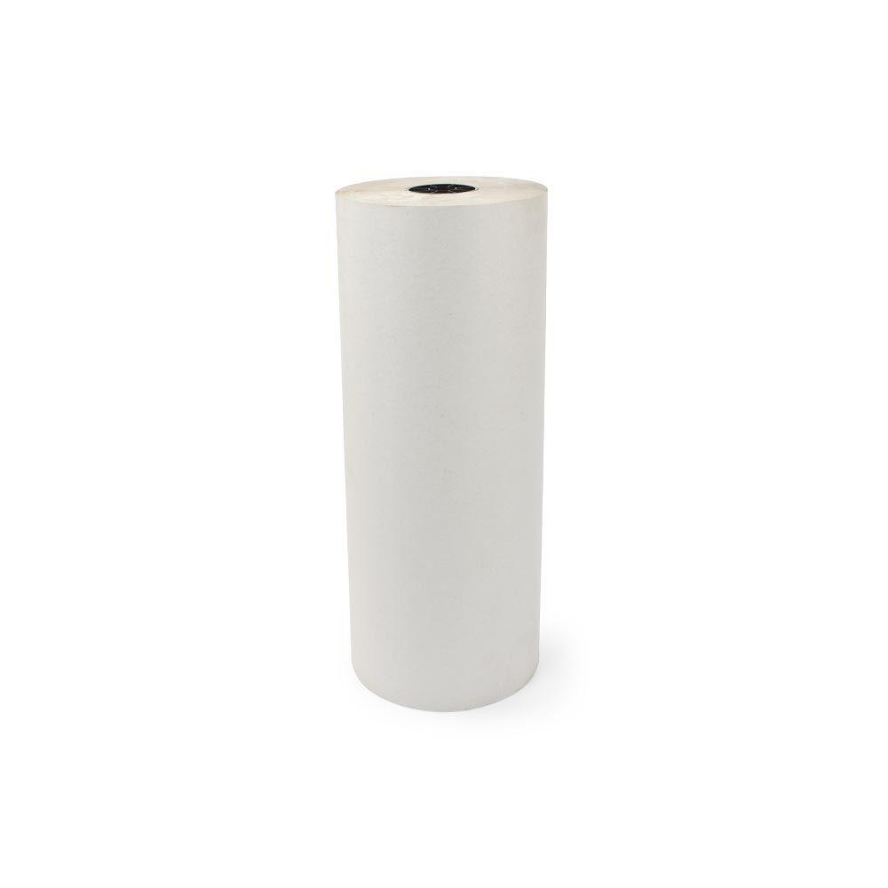 15 in. x 1695 ft. 30# White Newsprint Roll