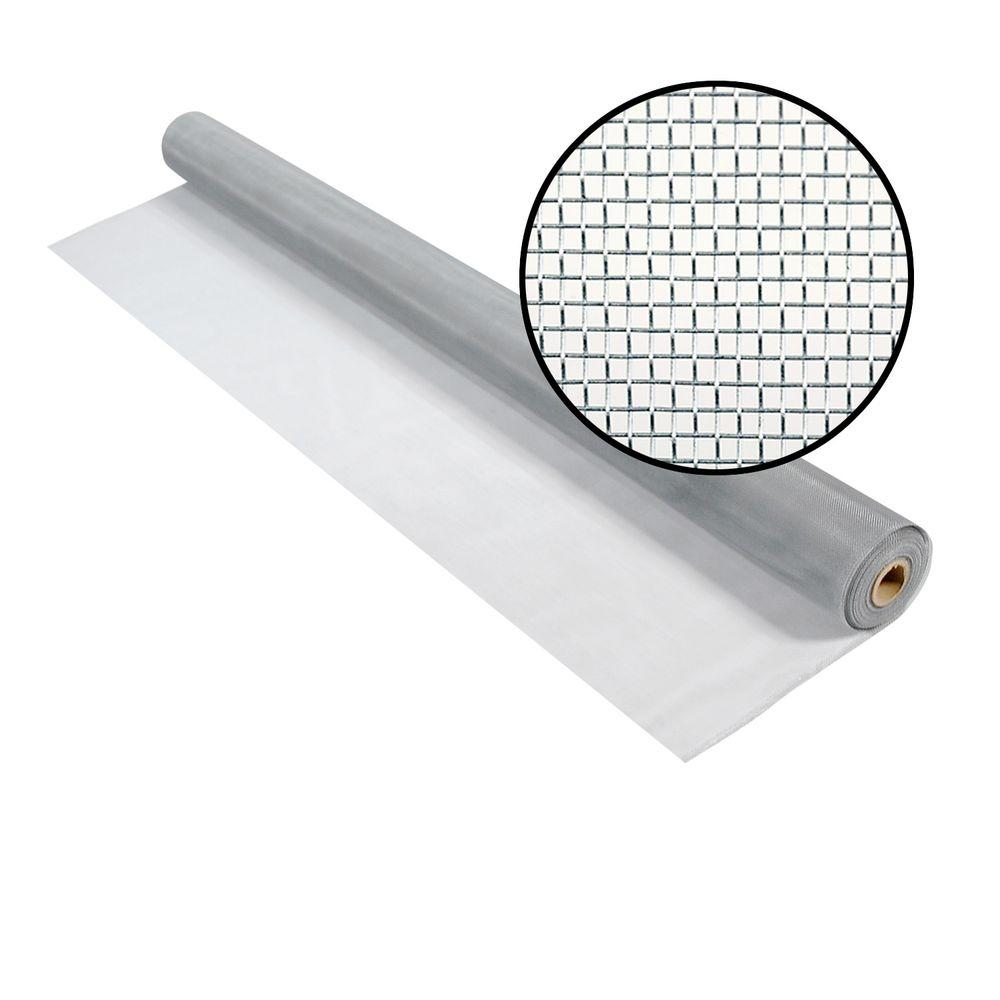 Phifer 60 in. x 50 ft. Brite Aluminum Screen