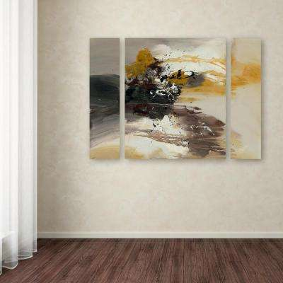 """24 in. x 32 in. """"Abstract II"""" by Rio Printed Canvas Wall Art"""