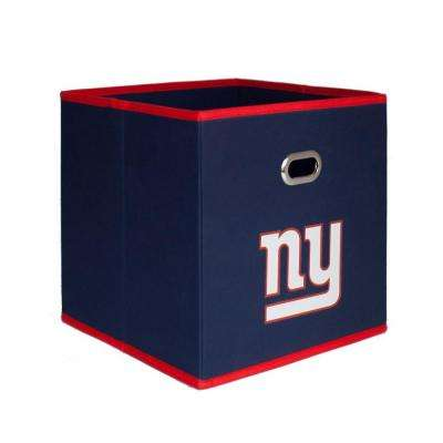 New York Giants NFL Store-Its 10-1/2 in. x 10-1/2 in. Navy Blue Fabric Drawer