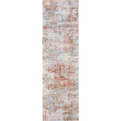 Cannes Copper 2 ft. 3 in. X 7 ft. 6 in. Indoor Runner Rug