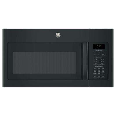 1.7 cu. ft. Over-the-Range Sensor Microwave Oven in Black