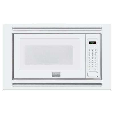 Built In Microwave White With Sensor Cooking