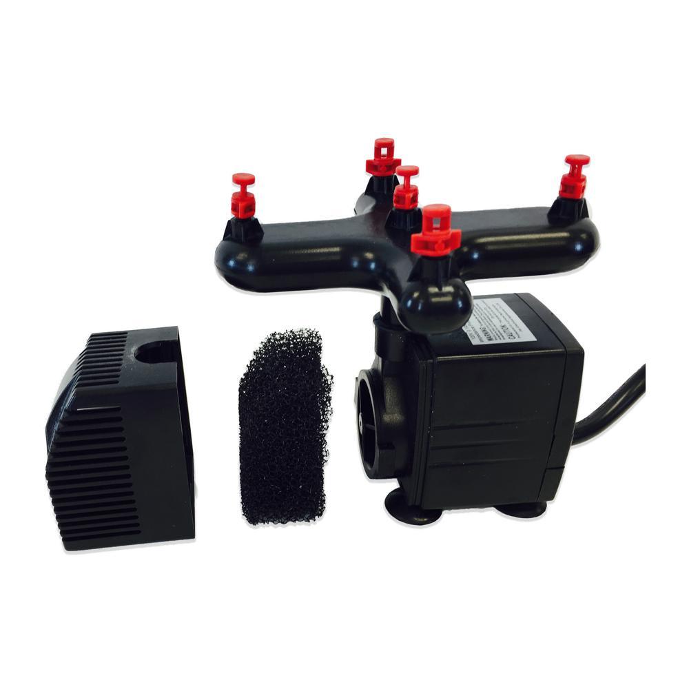 24 Site Aeroponic Clone Machine Viagrow 602573081938 Hydroponic System Single