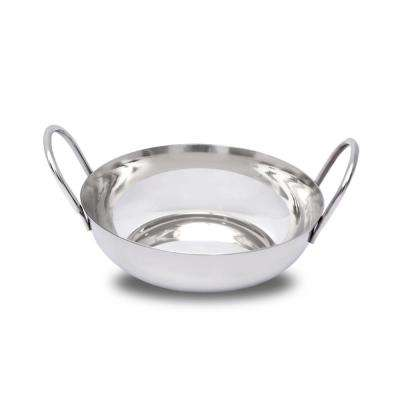0.50 qt. Stainless Steel Balti Pan