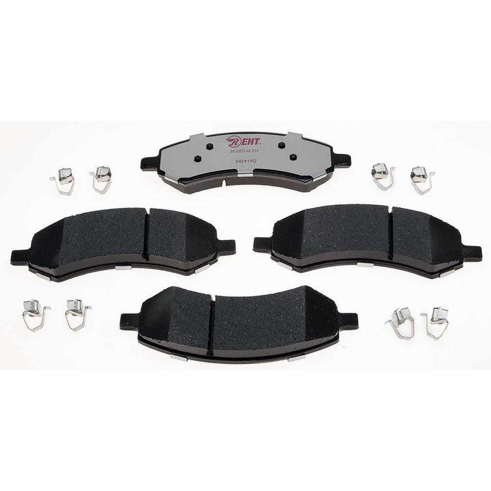 Front Disc Rotors /& Ceramic Brake Pads Fits Dodge Mitsubishi Ram Dakota Raider