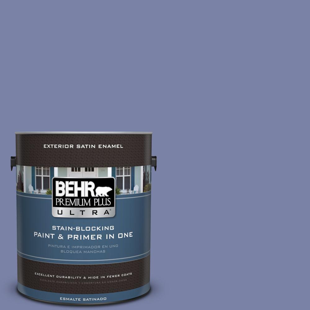 BEHR Premium Plus Ultra 1-gal. #620D-5 Romanesque Satin Enamel Exterior Paint