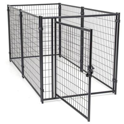 4 ft. W x 8 ft. L Modular Welded Wire Kennel Kit