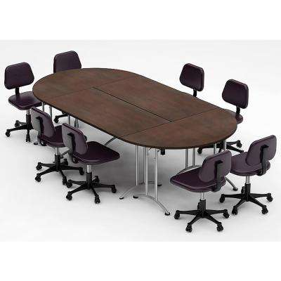 4-Piece Color Java Conference Tables Meeting Tables Seminar Tables Compact Space Maximum Collaboration