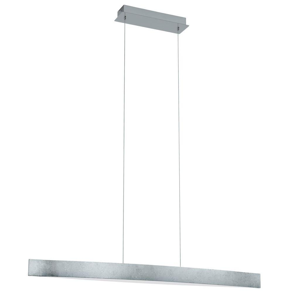 EGLO Fornes 100-Watt Satin Nickel Integrated Pendant