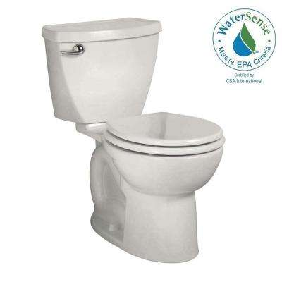 Cadet 3 Powerwash Tall Height 10 in. Rough 2-Piece 1.28 GPF Single Flush Round Toilet in White
